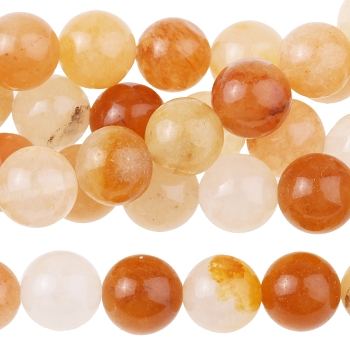 Yellow Jade 8mm Round 8
