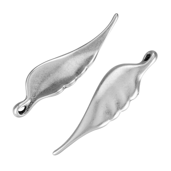 Angel Wing Pendant Antique Silver - per 10 pieces