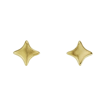 Sparkle Post Earring SHINY GOLD - per 2 pieces