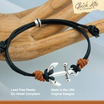 Knotted Anchor Bracelet Kit