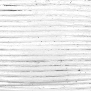 2mm Round Indian Leather Cord - White