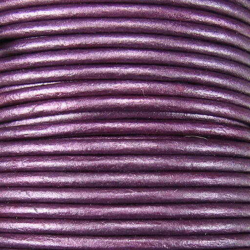 2mm Round Indian Leather