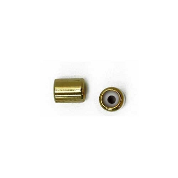 2mm Slide on Clasp Barrel - Gold