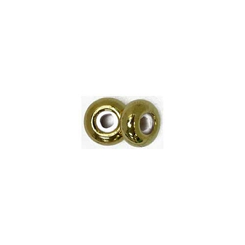 4mm Slide on Clasp Round - Gold