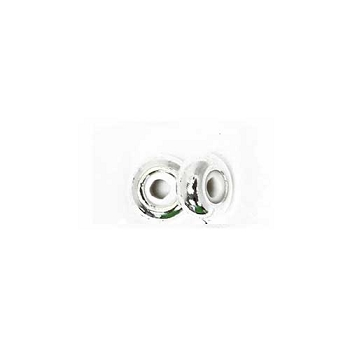4mm Slide-On Clasp Round - Silver