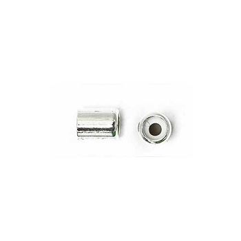 2mm Slide on Clasp Barrel - Silver