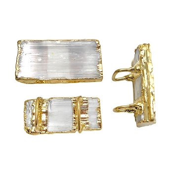 Regaliz Stone Slider - Selenite Gold