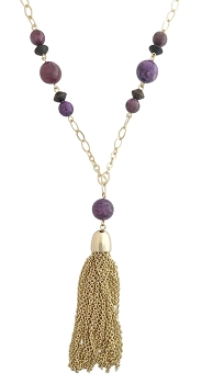Royal Tassel Necklace