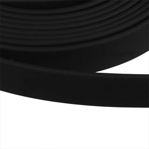 Jitzy 10mm Flat PVC Cord - Black