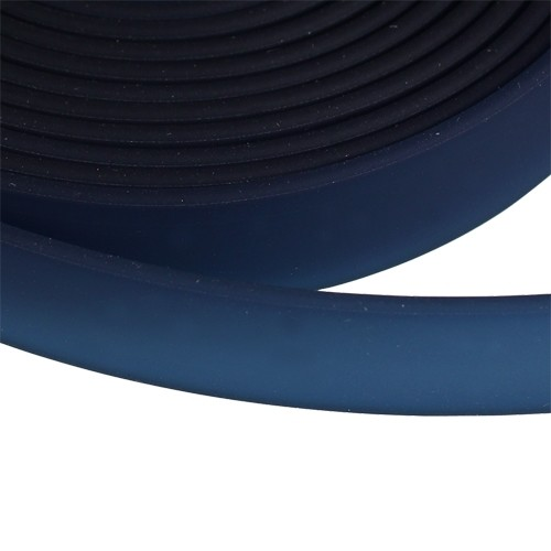 Jitzy 10mm Flat PVC Cord - Navy Blue