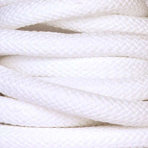 Nylon 10mm Round Cord - White