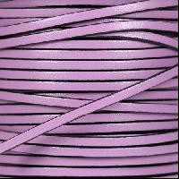 3mm Flat Leather Cord - Lilac
