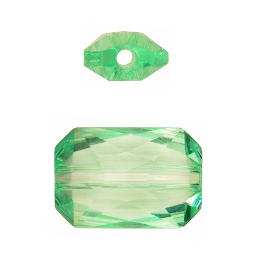 Swarovski 5627 22mm Emerald Cut Large Hole Bead - Chrysolite