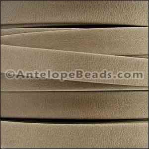 Arizona 5mm Flat Leather Cord - Sand