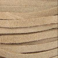Suede 5mm Flat Cord per 5 Meters - Taupe