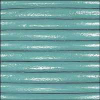 Euro 4mm Round Leather Cord - SEAFOAM  - per inch