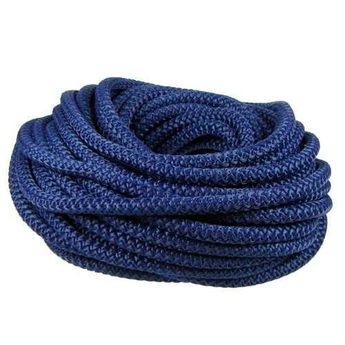 Nylon 5mm Round Cord - Navy