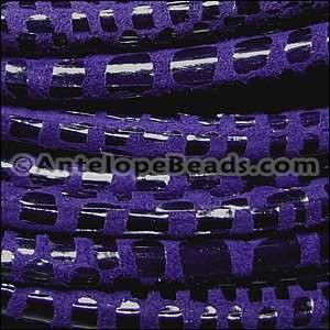Cancun 5mm ROUND Leather Cord - Purple