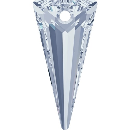 Swarovski 6480 28mm Spike Pendant - Crystal Blue Shade