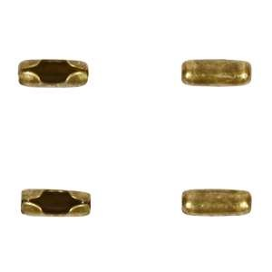 End Connector Ball Chain 1.5mm (4) - Antique Brass