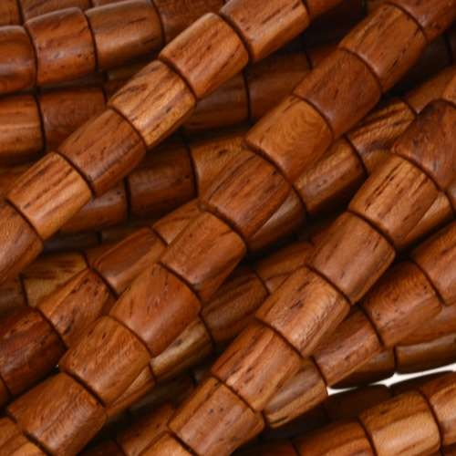 Bayong Wood Bead Tube 6x6mm