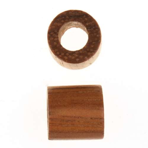 Bayong Wood Slide Large Hole Tube 10mm - piece