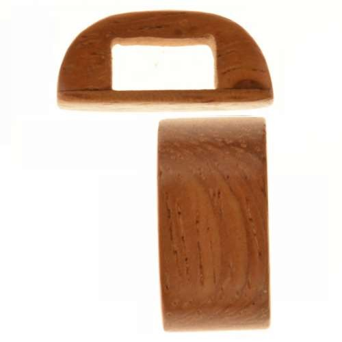 Bayong Wood Slide Large Hole Bar 10x20mm
