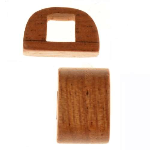 Bayong Wood Slide Large Hole Bar 10x15mm - piece