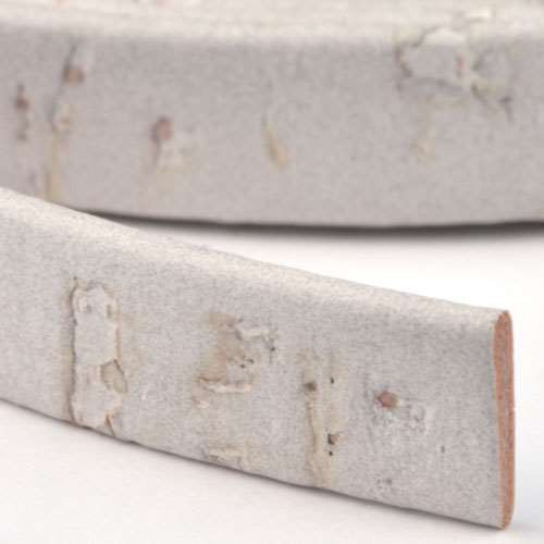 Portuguese 10mm FLAT Cork Cord - Grey