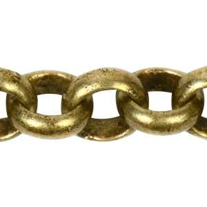 Chain Rolo 3.8mm - Antique Brass