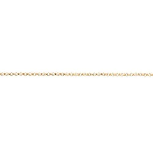 Rolo Chain 1.0mm - Gold