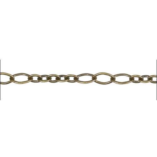 5:3 Oval Chain - Antique Brass