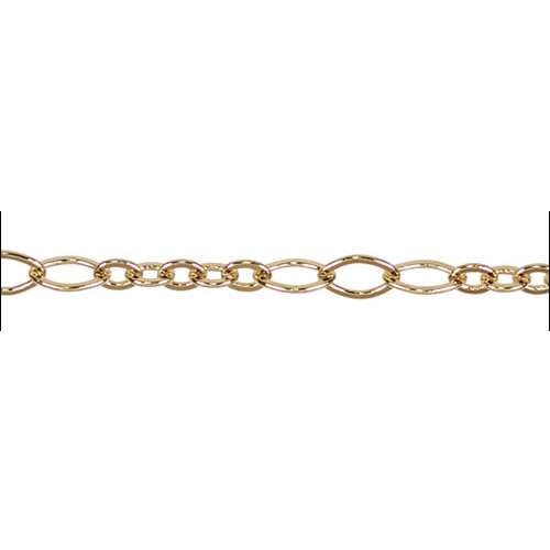 5:3 Oval Chain - Gold