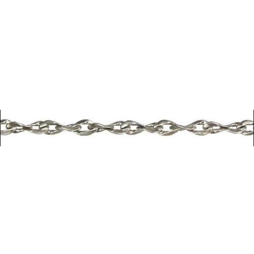 Twisted Curb Chain - Antique Silver