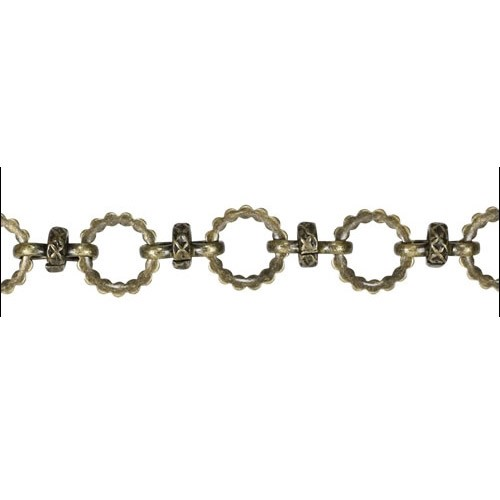 Kelly's chain ANT BRASS - per foot