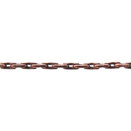 Beading Chain - Antique Copper - per foot