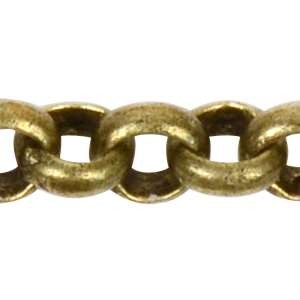 Chain Rolo 2mm - Antique Brass