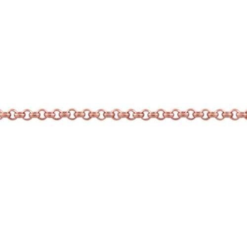 Rolo 2.0mm Chain - Rose Gold