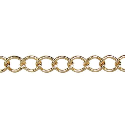 Small Curb Chain - Gold