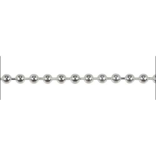 Ball Chain 3.2mm - Silver Plate