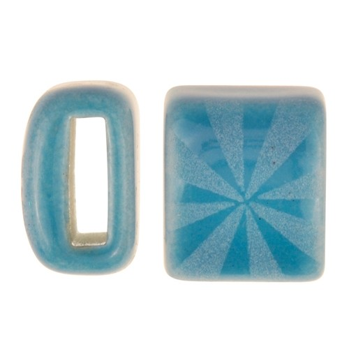 Clay River / Lillypilly Slider Flat 10mm Starburst - Teal Blue