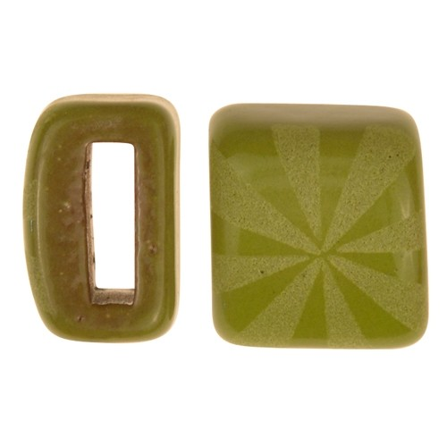 Clay River / Lillypilly Slider Flat 10mm Starburst - Lime