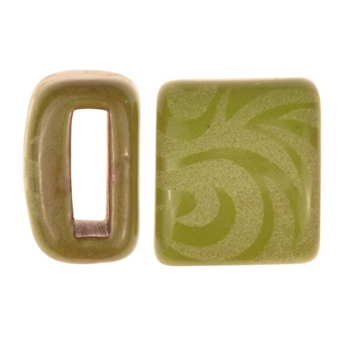 Clay River / Lillypilly Slider Flat 10mm Tattoo - Lime