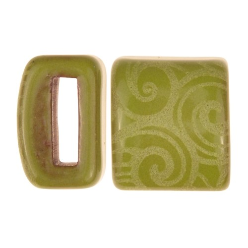 Clay River / Lillypilly Slider Flat 10mm Wave - Lime