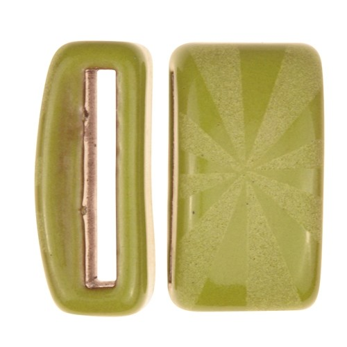 Clay River / Lillypilly Slider Flat 20mm Starburst - Lime