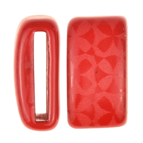Clay River / Lillypilly Slider Flat 20mm Flowers - Red