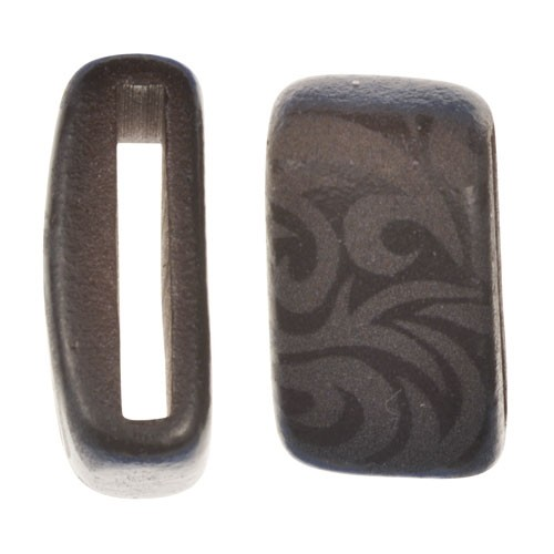 Clay River / Lillypilly Slider Flat 20mm Tattoo - MATTE Black