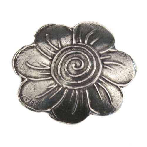Dorabeth Slide Flower Swirl - Antique