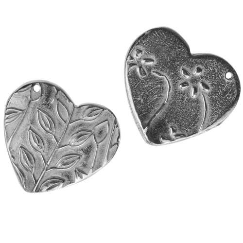 Dorabeth Charm Heart Flower - Bright