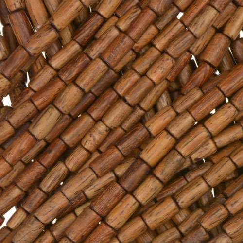 Robles Wood Bead Tube 2x6mm